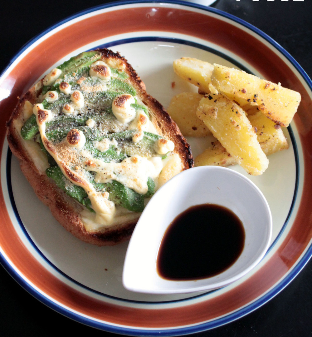 栄養満点。豆乳マヨのアボカド美肌トースト