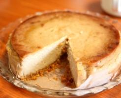 簡単ヴィーガンチーズケーキ