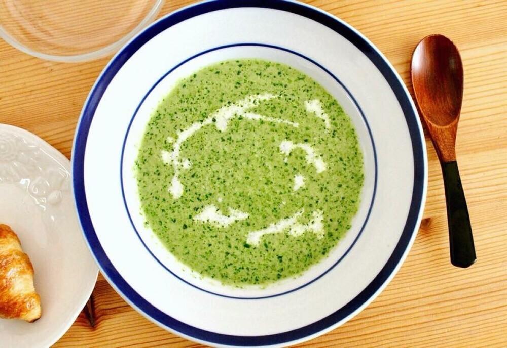 冷凍野菜のまろやかスープ