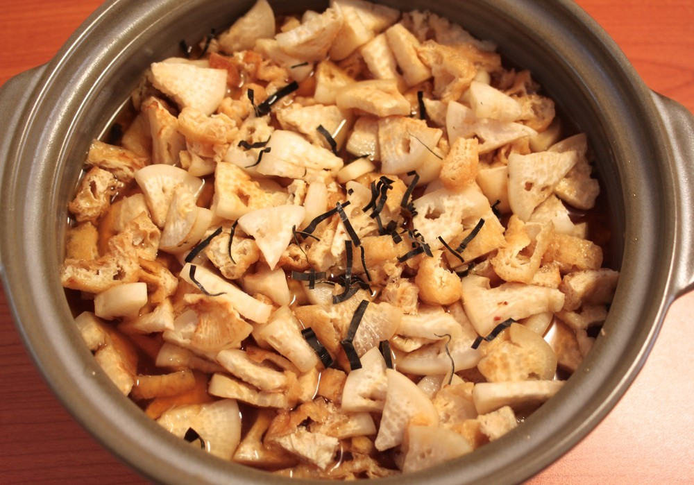 焼き大根の炊き込みご飯
