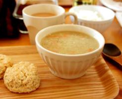 蓮根の養生とろみスープ