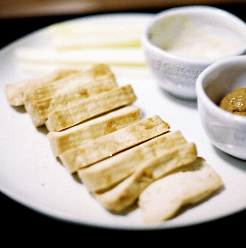 豆腐の味噌漬け。