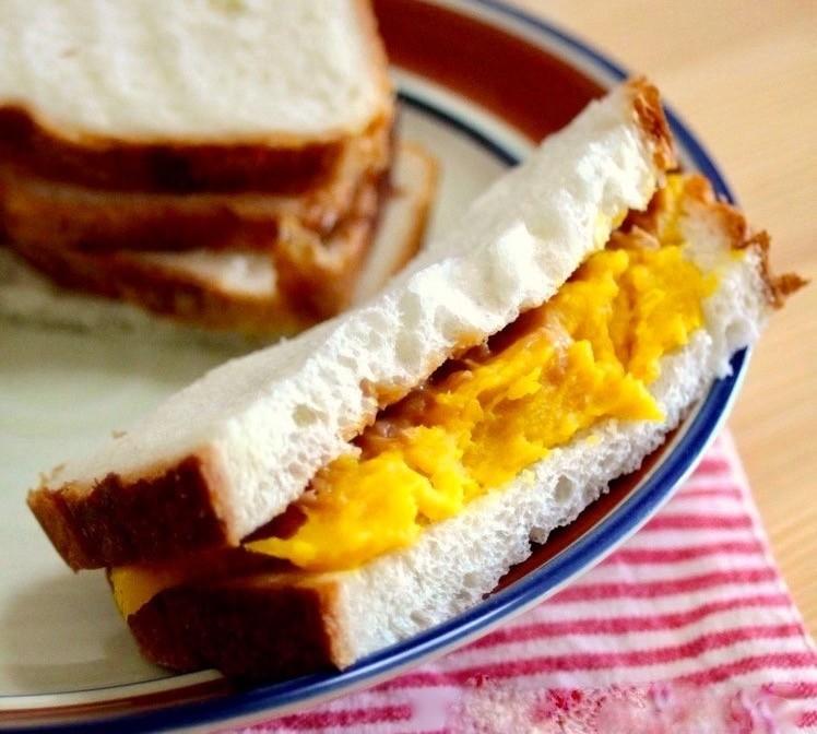 かぼちゃとピーナッツバターの美肌ペースト